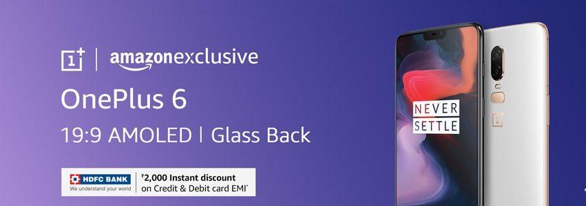Amazon - OnePlus 6